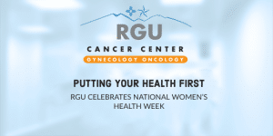 Putting Your Health First - RGU celebrates national womens health week