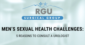 Men's Sexual Health Challenges: 5 Reasons to Consult a Urologist