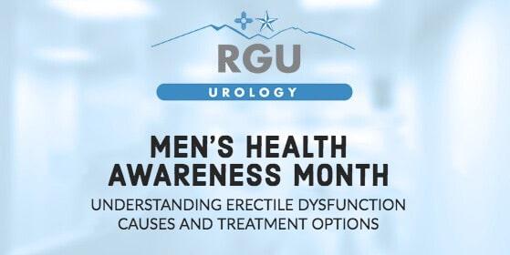 Mens Health Awareness Month - Understanding Erectile Dysfunction - Rio Grande Urology