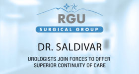Dr. Salvador Saldivar Brings Unique Specialty to  RGU Patients