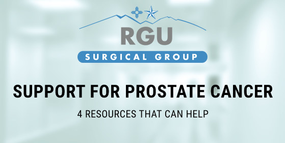Support for prostate cancer - 4 resources that can help