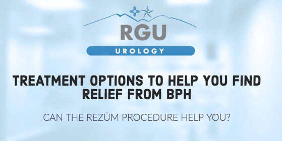 Treatment options to help you find relief from BPH - RGU
