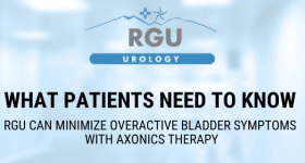 RGU Can Minimize Overactive Bladder Symptoms with Axonics Therapy: What Patients Need to Know